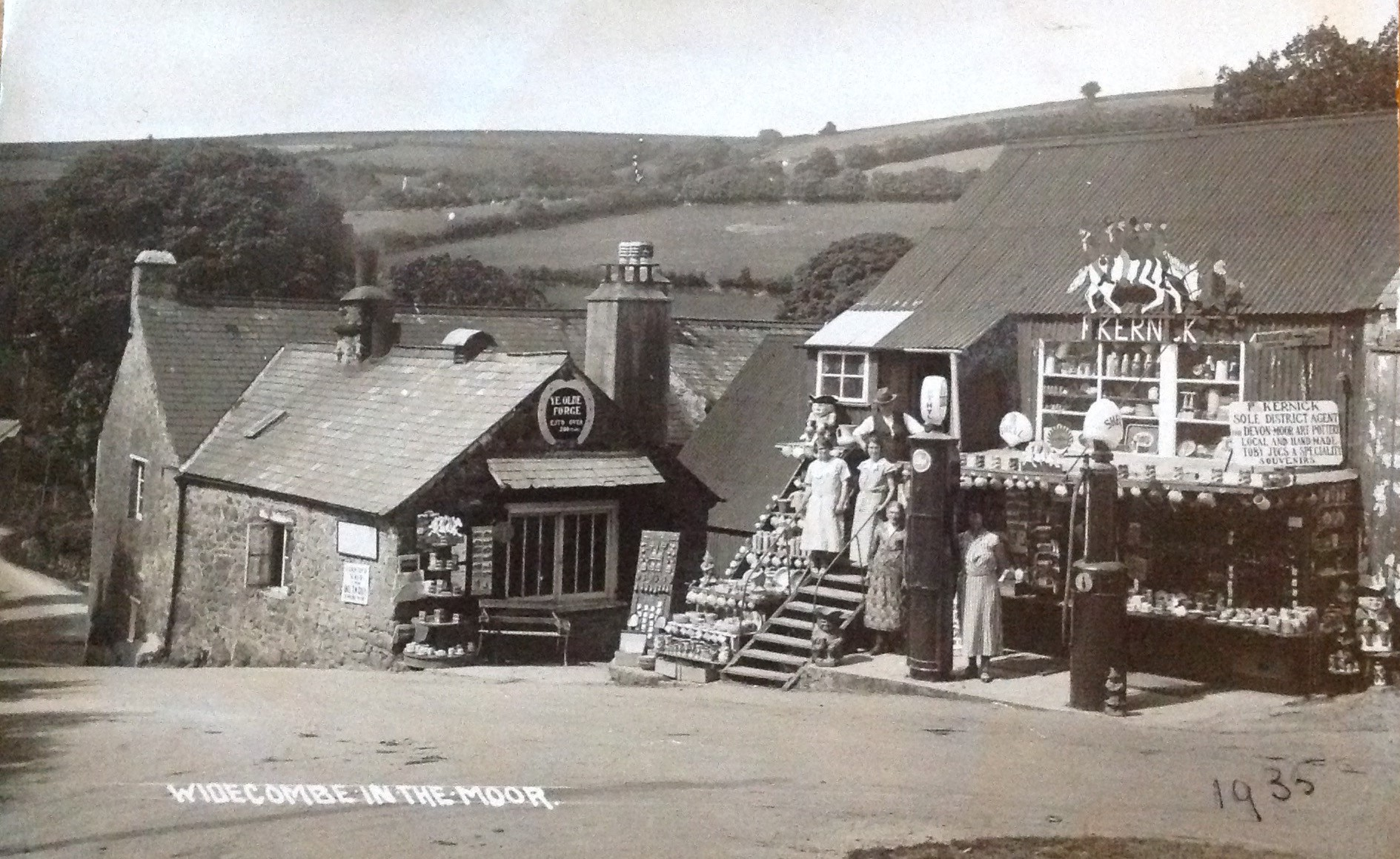 Kernick stores, WIdecombe, 1935
