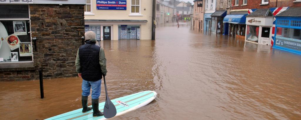 Braunton flooding