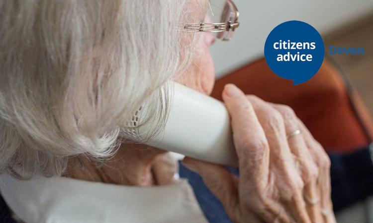 Older person phone call