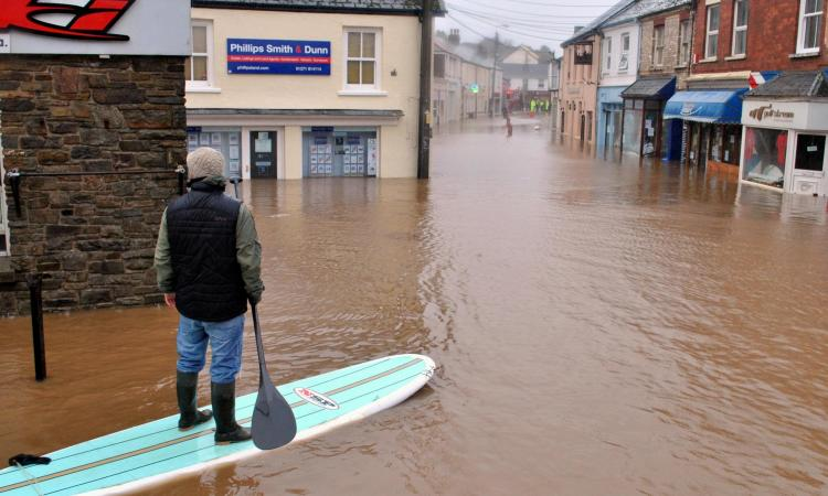 Floods in Braunton