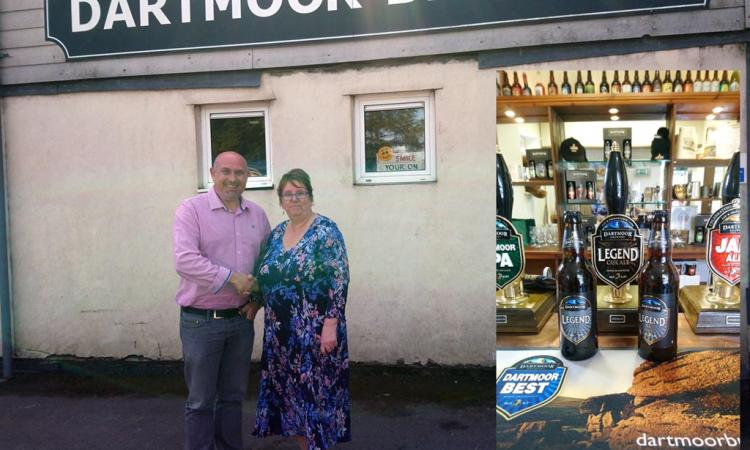 Richard Smith and Elaine Cook - Dartmoor Brewery and Devon Communities Together