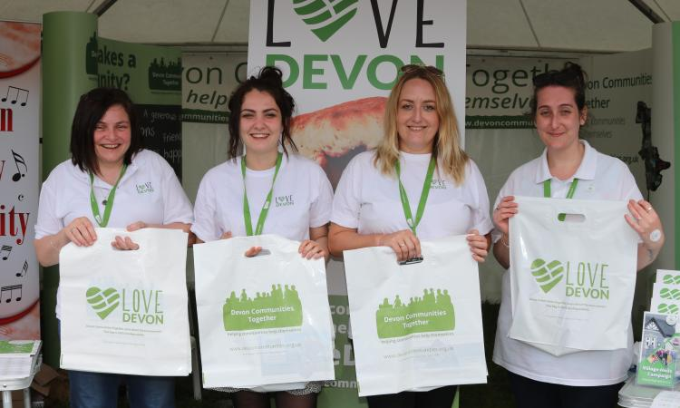 Devon Communities Together at summer shows